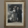 19th Century Framed Hand Colored Engraving