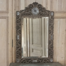 19th Century Renaissance Carved Wood Mirror