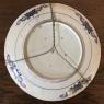 19th Century Flow Blue Plate