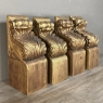 Set of Four 19th Century Gilded Corbels