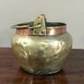 19th Century Brass & Copper Kettle