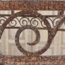 Art Deco Wrought Iron Chandelier