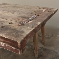 18th Century Swedish Warmland Stockholm Bench ~ End Table ca. 1790
