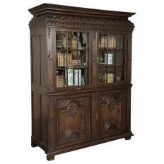 18th Century French Louis XIV Bookcase ~ Vitrine