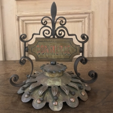 19th Century Decorative Brass Commercial Accessory