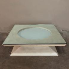 Mid-Century Modern Illuminated Coffee Table from M.I.M. Roma circa 1970s