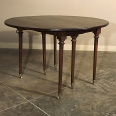 19th Century English Dropleaf Table