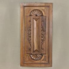 19th Century Carved Walnut Panel
