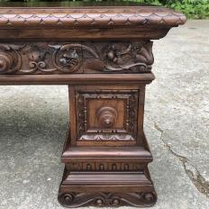 Antique Italian Baroque Walnut Credenza ~ Console