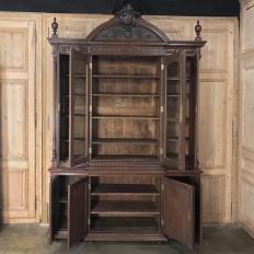 19th Century French Renaissance Grand Bookcase, ca.1870