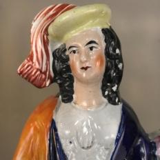 19th Century Staffordshire Statue