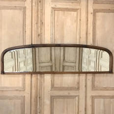 Antique French Louis XVI Backsplash Mirror