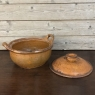 19th Century Earthenware Pot with Lid
