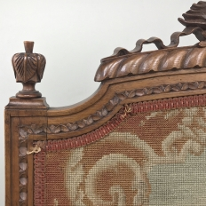 Antique Walnut Louis XVI Firescreen