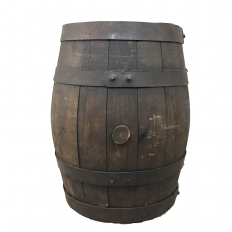 19th Century Tavern Wine Barrel