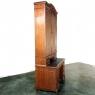 Grand 19th Century Louis Philippe Mahogany Desk with Bookcase