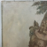 Antique Oil Painting on Canvas of Cherubs