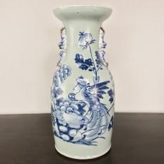 19th Century Chinese Blue & White Vase