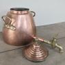 19th Century Copper & Bronze Beverage Server