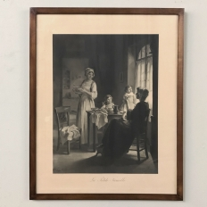 19th Century Framed French Engraving