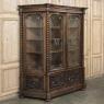 Grand 19th Century Italian Renaissance Walnut Bookcase