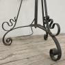 Art Nouveau Period Wrought Iron Floor Lamp