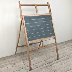 Mid-Century Score-Keeping Blackboard on Stand