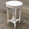 19th Century French Louis XVI Round End Table