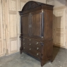 18th Century Dutch Hand Carved Linen Press