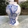 19th Century Blue & White Delft Vase