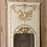 19th Century French Louis XVI Painted Trumeau