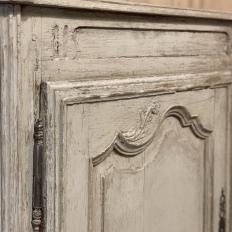 18th Century French Louis XV Painted Buffet