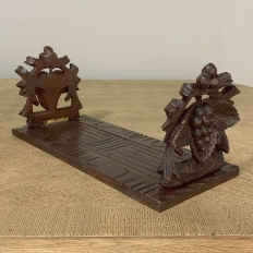 19th Century Hand Carved Swedish Desktop Bookends