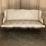 Sofa, Antique French Louis XV Wingback