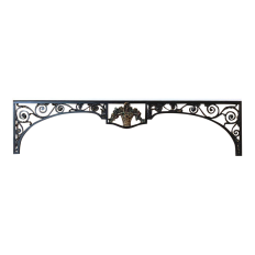 Window Guard, 19th Century French Louis XVI Carved Wood