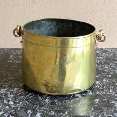 Brass Pot ~ Jardiniere, 19th Century