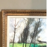 Framed Oil Painting on Canvas by Geroen