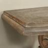 19th Century French Louis XIV Stripped Oak Console