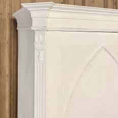 19th Century Dutch Painted Linen Cabinet