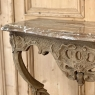 18th Century French Regence Marble Top Stripped Console