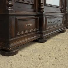 19th Century Neoclassical Revival Three Door Armoire