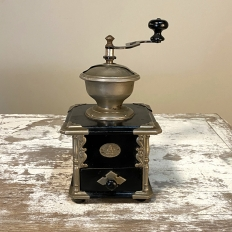 Antique Coffee Mill by K&M