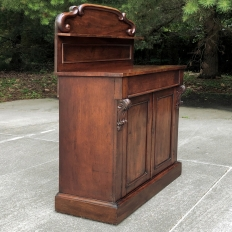 19th Century French Louis Philippe Period Mahogany Buffet