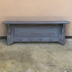 Antique Painted Hat Rack