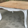 Antique French Louis XV Painted Coffee Table