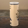 Pair Antique Hand-Painted Chinoiserie Vases