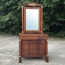 19th Century French Empire Mahogany Dresser with Mirror