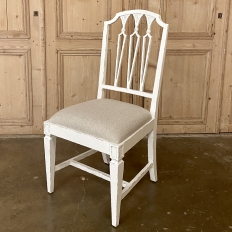 Swedish Style Painted Side Chair ~ Dining Chair