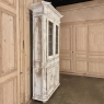 19th Century French Neoclassical Grand Painted Bookcase