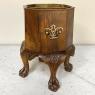 Antique English Walnut Chippendale Tea Warmer ~ Jardiniere
